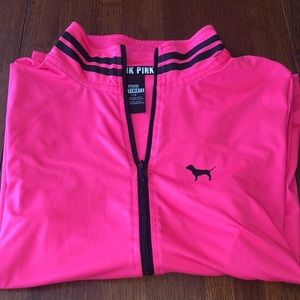 "Used PINK Victoria's Secret ""Ultimate"" half-zip"